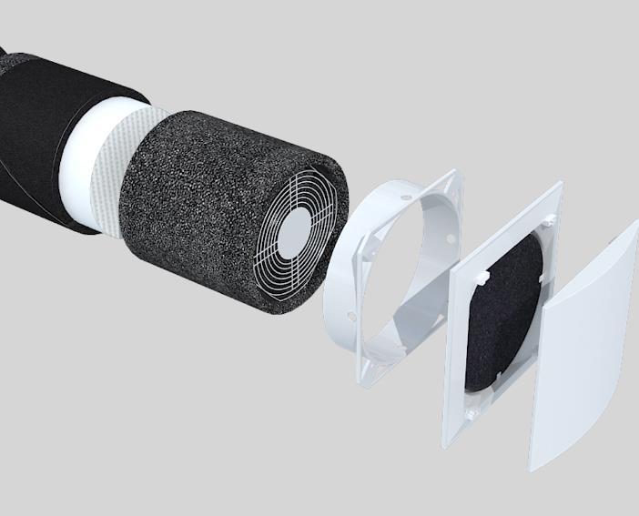 空调同步呼吸新风系统三维产品宣传片-上海虎置