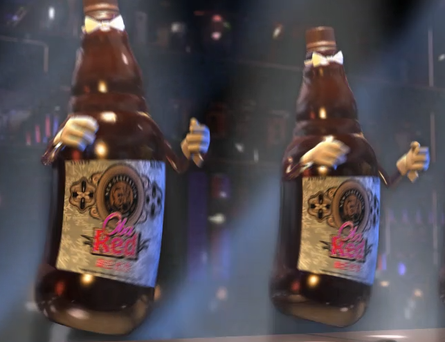 3D啤酒电视广告制作 上海虎置