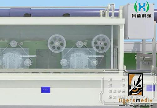 上海虎置制作的三维机械beplay体育下载安卓版可实现模拟真实机械设备